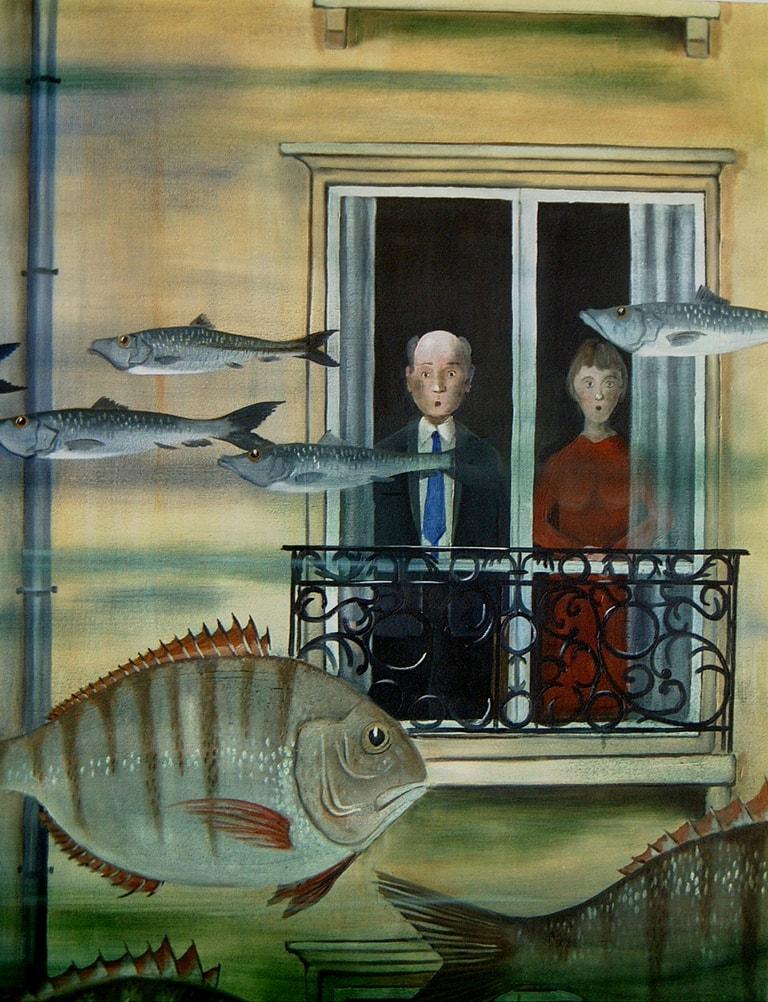 1 les poissons 92x73