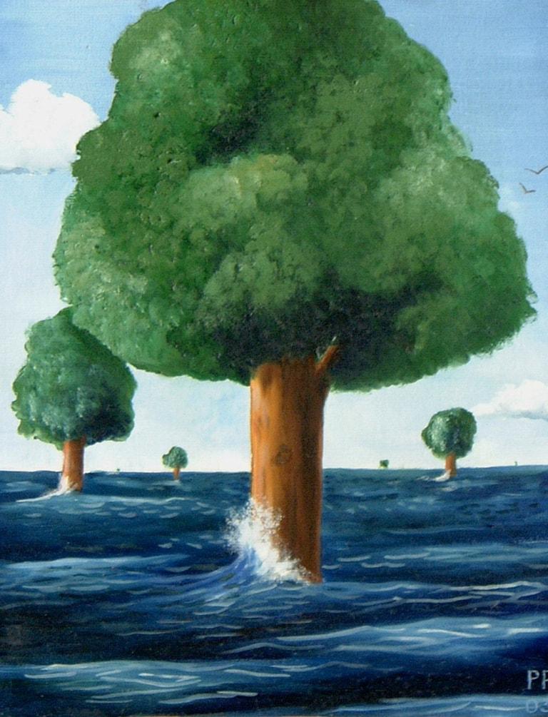 18 un ocean de verdure 41x33