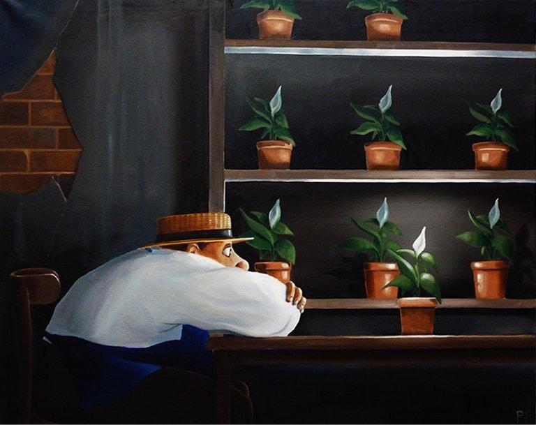 53 la bouture et le jardinier 92x73