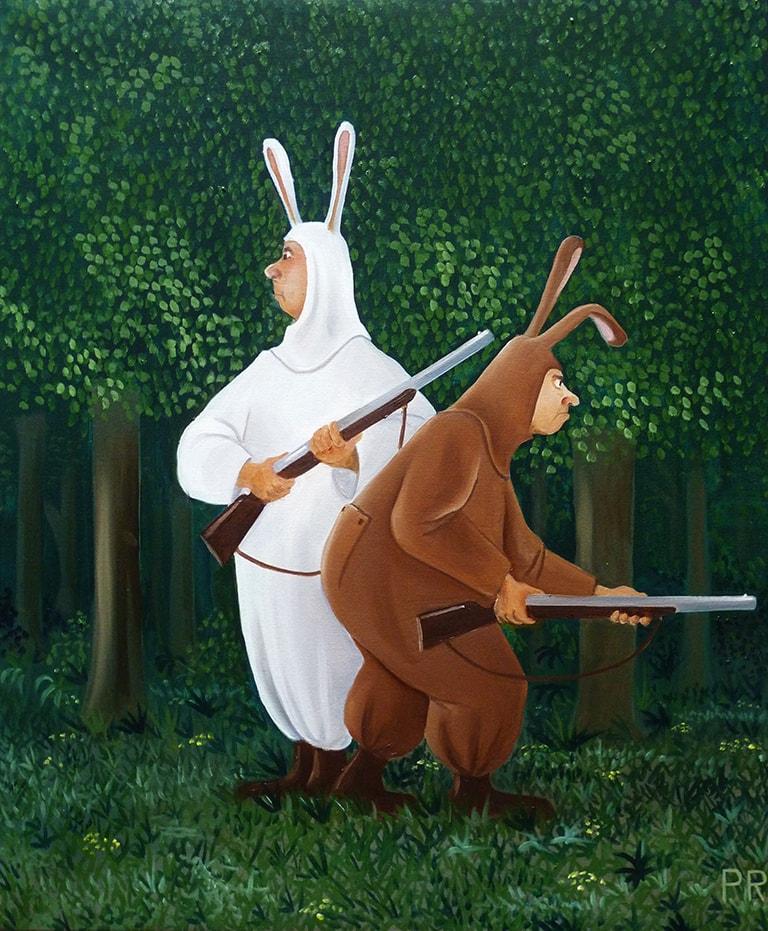728 la chasse au lapin